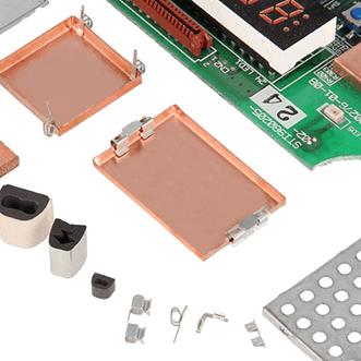 Płyty PCB, uszczelki, obudowy i klipsy