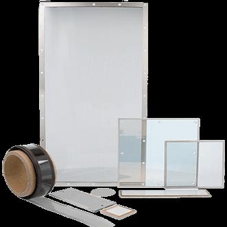 Okna, wyświetlacze i przezroczyste arkusze