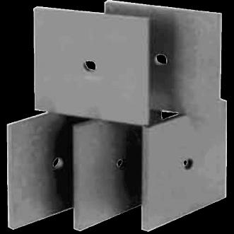 Płytki absorbera UHF Ferrite